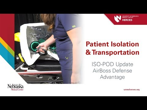 Patient Isolation and Transportation ISO-POD Update: AirBoss Defense Advantage