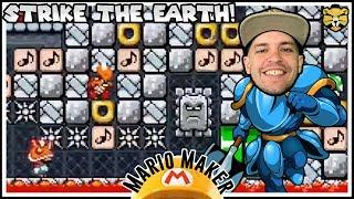 A Crazy Shovel Knight Music Level! Mario Maker