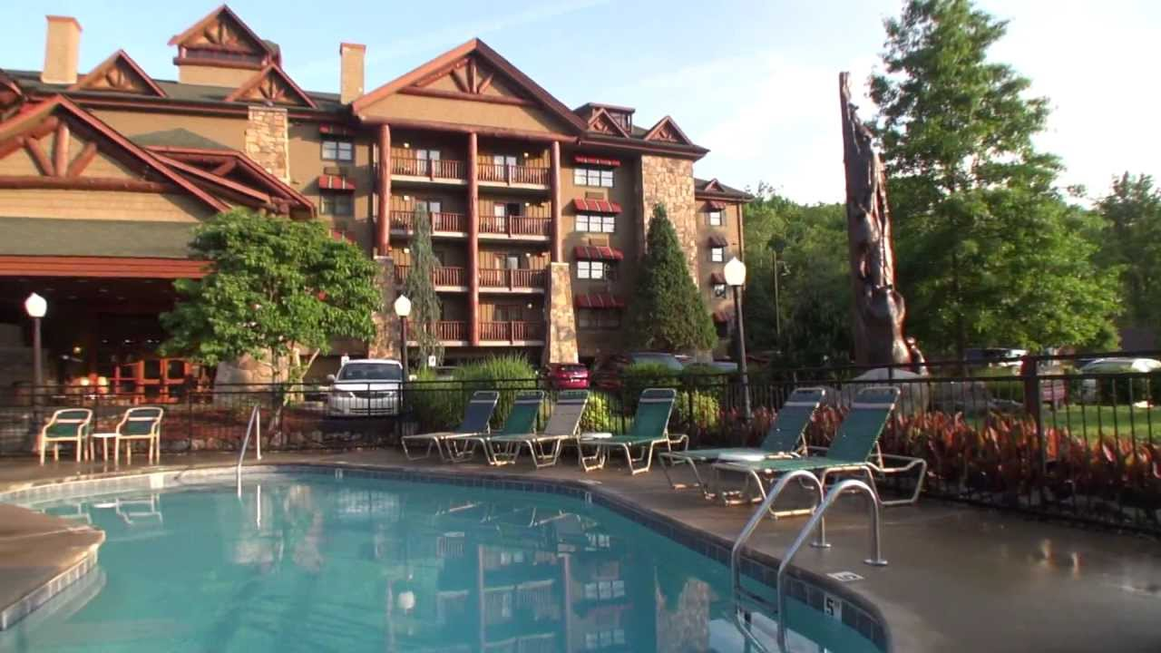 Bearskin Lodge On The River Hotel In Gatlinburg Tn Hd Motion Cam Video You