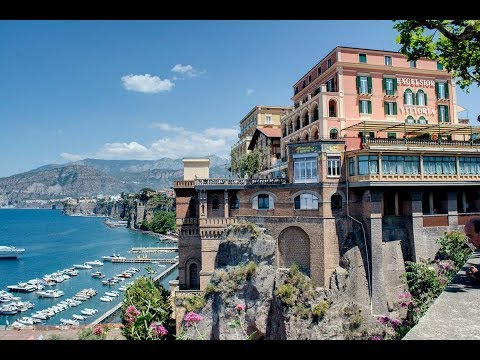 MUST SEE!!! Sorrento Italy; The Grand Hotel Excelsior Vittoria