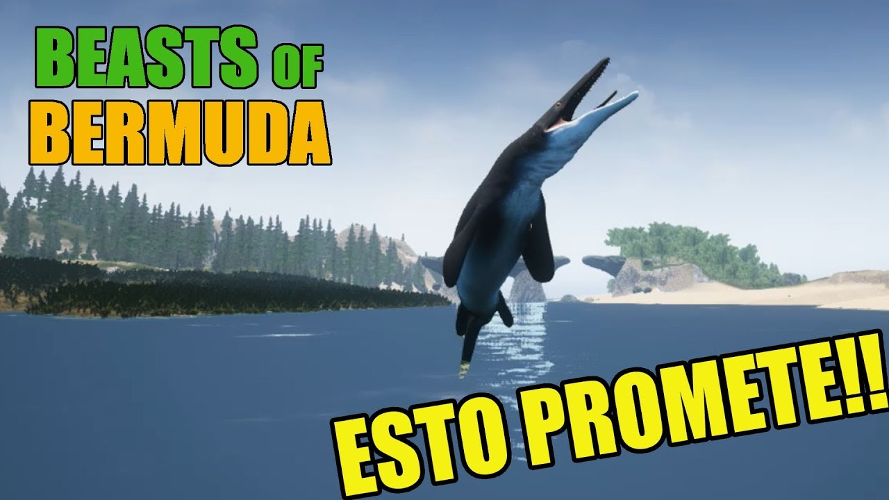 MosasaurusIchthyovenator Y Gameplay Español1 Bermuda ApatosaurusdemoBeasts Of YH29eWEDI