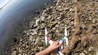 łowienie ryb dronem