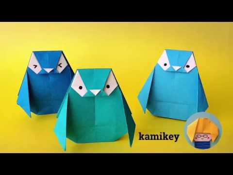 折り紙 ペンギン Penguin Origami(カミキィ kamike
