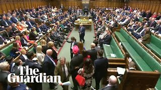 SNP's Ian Blackford clashes with Speaker before walkout
