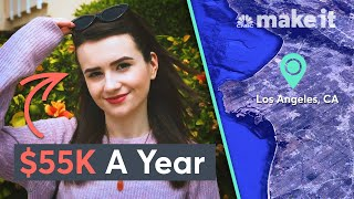 Living On $55K A Year In Los Angeles | Millennial Money