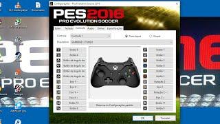 Como Configurar Joystick No PES 2016/2017/2018 PC ATUALIZADO.