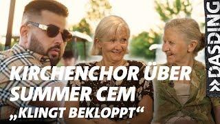 Kirchenchor reagiert auf: Summer Cem & Bausa - Casanova | DASDING