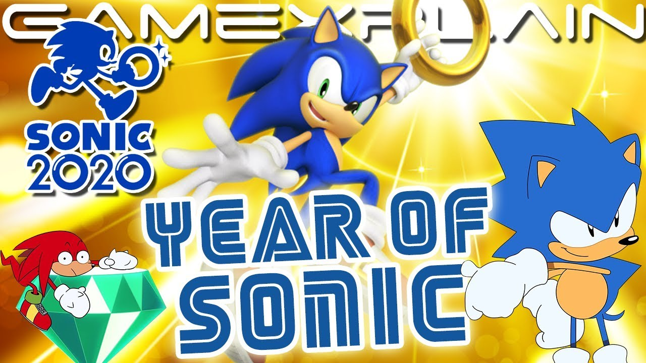 Sonic's Going Big for 2020! New Announcements Coming Every Single Month
