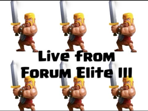 Live from Forum Elite 3