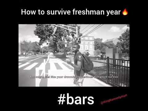 How to survive freshman year in 10 steps (10 crack commandments remix)