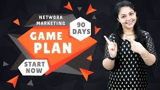 90 Days Game Plan Network Marketing | How to Grow Network Marketing Business 📈