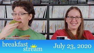 """☀️ Breakfast Stream   July 23, 2020 - """"Hot Avocado Toast"""""""