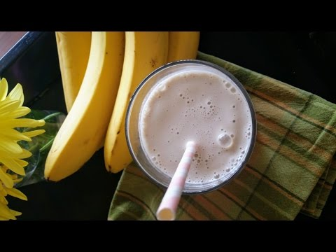 Incredibly Healthy Mock Vanilla Milkshake!  Dairy Free and Delicious!