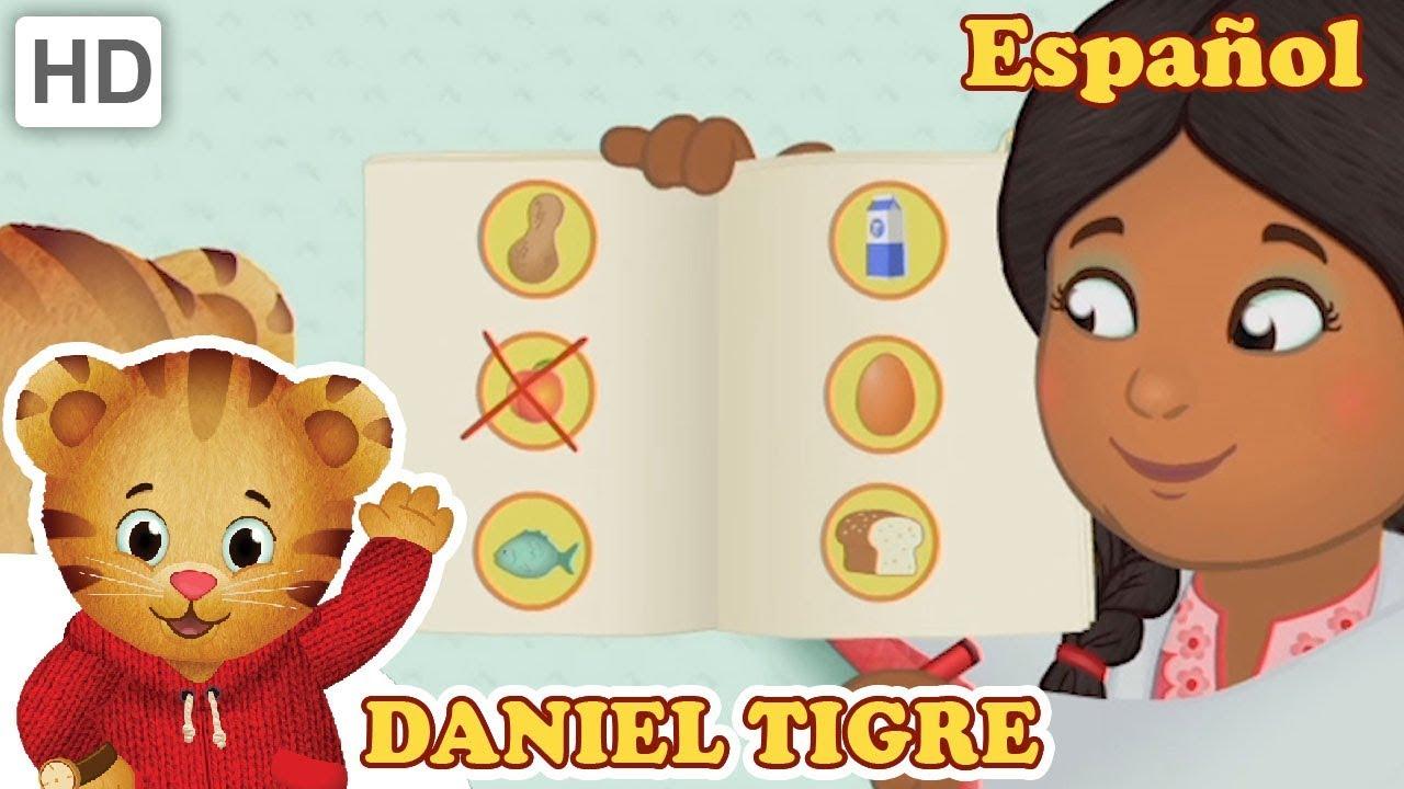 Daniel el tigre pide ayuda