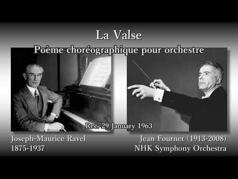 Ravel: La Valse, Fournet & NHKso (1963) ラヴェル ラ・ヴァルス フルネ