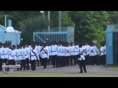 Bermuda Regiment Colours Presentation