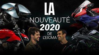 À la recherche de la nouveauté moto 2020 - EICMA