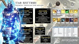 The Battery Templar Healer Build for ESO Imperial City