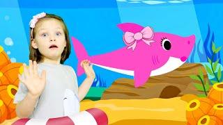 Baby Shark Dance Kids Songs and Nursery Rhymes Animal Songs by KybiBybi