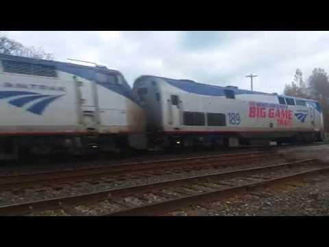 Amtrak 48 Big Game Train 189 72 Dunkirk, NY