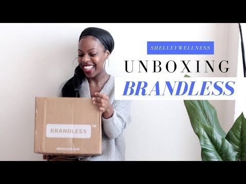 Brandless Unboxing | Organic, Non GMO, All $3