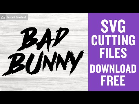 Bad Bunny Svg Free Bad Bunny Logo Svg Bad Bunny Cut File Instant Download Silhouette Cameo Shirt Design El Conejo Malo Svg 0964 Freesvgplanet