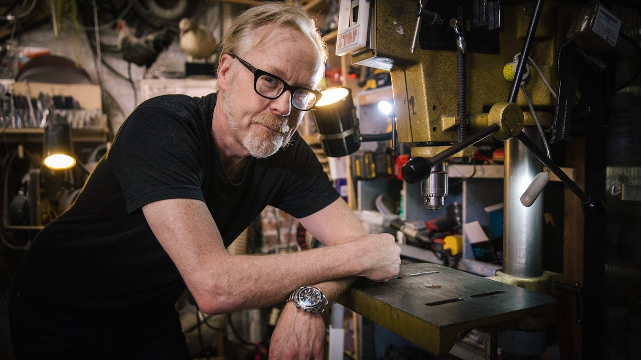 Adam Savage's One Day Builds: Drill Press Modification!