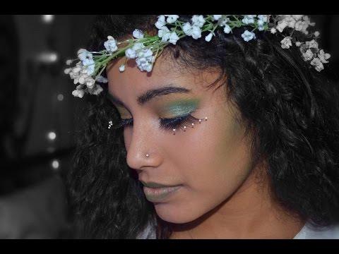 Makeup Tutorial: Mother Nature - YouTube