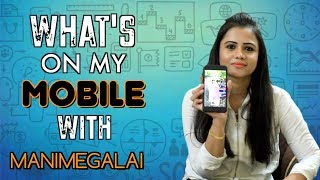 What's On My Mobile? | Manimegalai Mobile Secret | Episode 05 | Aadhan Tamil