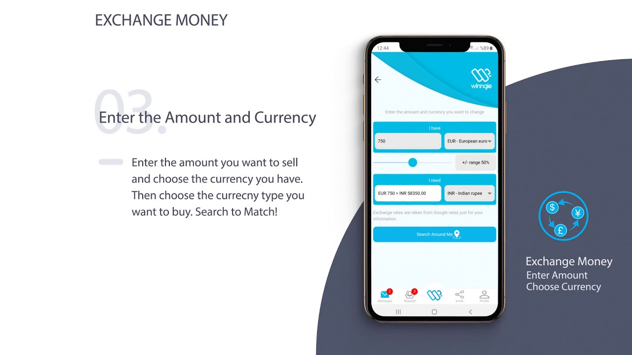 Exchange And Transfer Money