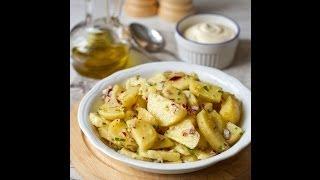 Рецепт французского картофельного салата