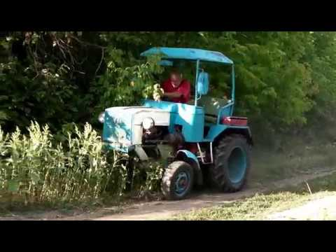 ТАКОЙ ТЕХНИКИ ВЫ ЕЩЁ НЕ ВИДЕЛИ! Трактор  своими руками + навесное оборудование. Homemade Tractor