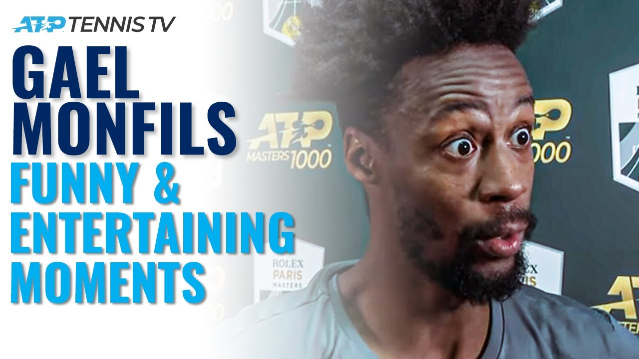 Gael Monfils Funny ATP Tennis Moments Compilation!