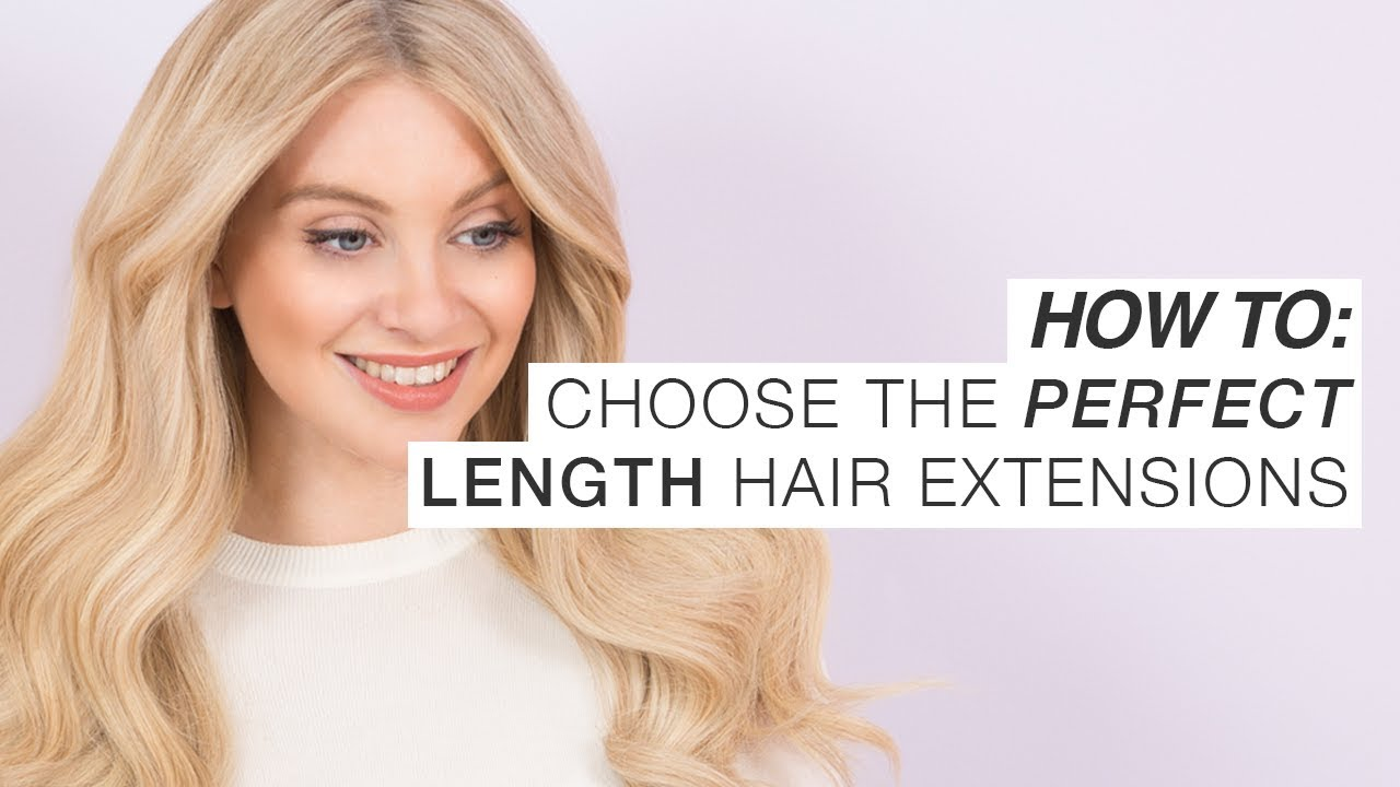 How To Choose The Perfect Length Of Hair Extensions Milk Blush
