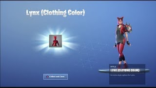 UNLOCKING *NEW* RED LYNX SKIN on Fortnite Battle Royale