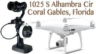 OSMO Pro + Phantom 4 on 1025 S Alhambra Cir, Coral Gables, FL - Video #3