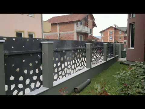 Cnc Plasma Cut Fence
