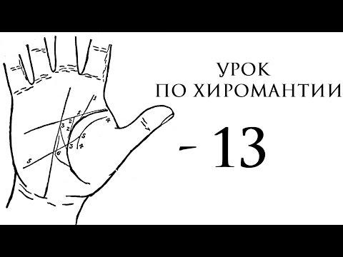 13. Урок по хиромантии. Знаки на линии жизни