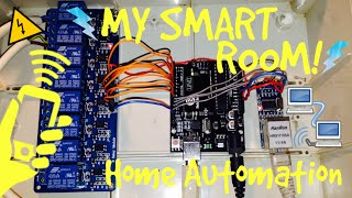 ➪ My smart room || Home automation system