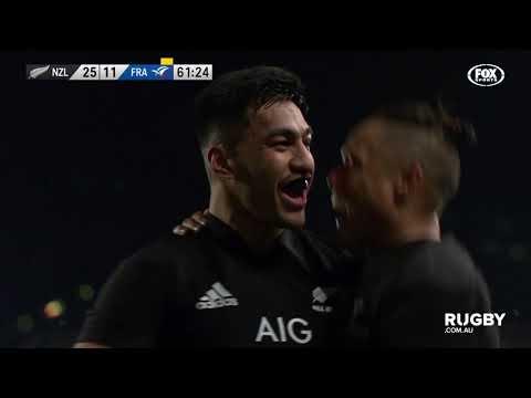 June Test Internationals: All Blacks vs France, Auckland Highlights