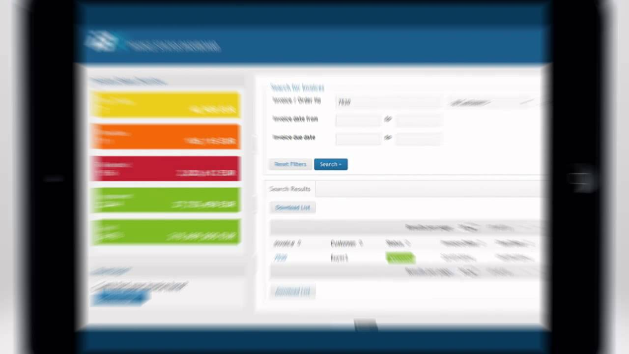 ibx invoice status dashboard  increased productivity in