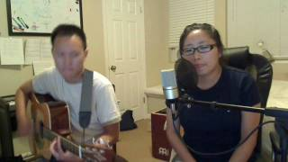 Colbie Caillat - Falling For You Jazzy Version! (w Sarah C)