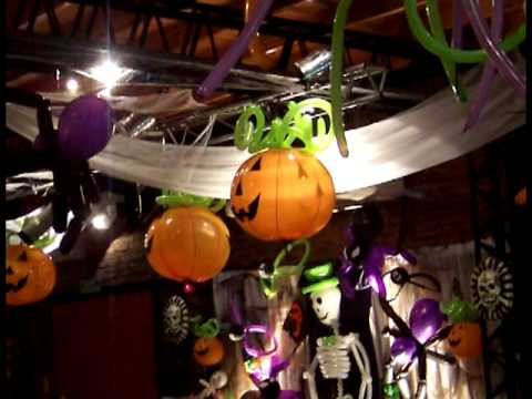 Globos y halloween balloons selva luz decoracion 2011 for Decoracion de halloween