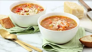 Vegetable-Bean Soup - Martha Stewart
