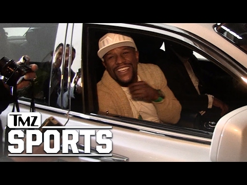 FLOYD MAYWEATHER HEY, CONOR MCGREGOR ... I'm In L.A. Now, Too! | TMZ Sports