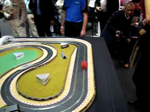 Scalextric Coulthard and Priaulx