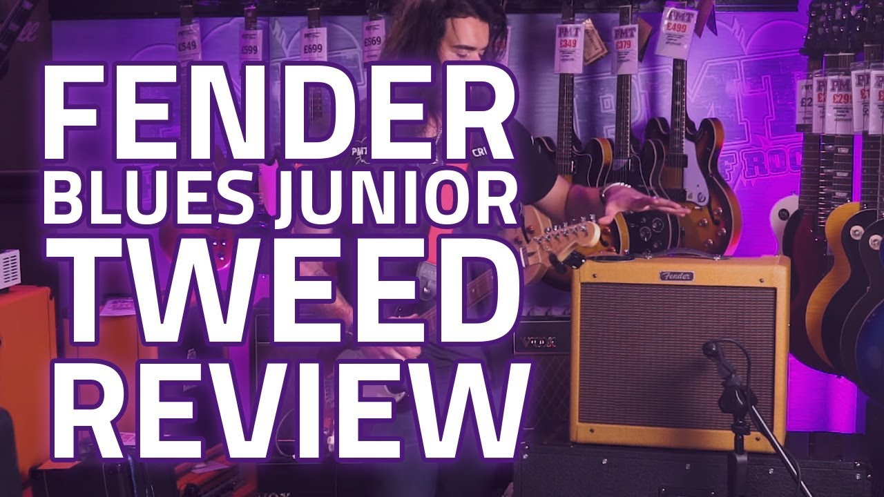 fender blues junior limited edition lacquered tweed review youtube. Black Bedroom Furniture Sets. Home Design Ideas