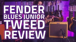 Fender Blues Junior Limited Edition Lacquered Tweed Review