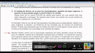 Curso de Forex - 16 de 99 - Consejos importantes
