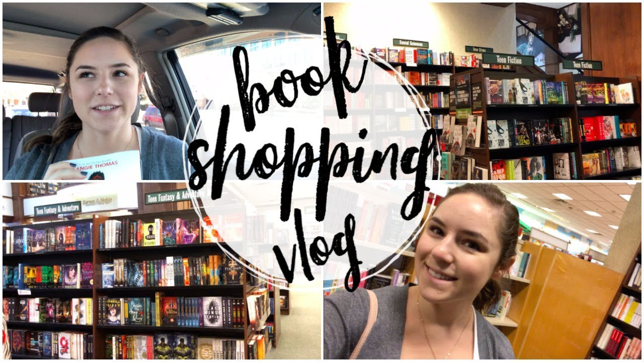 Book Shopping at Barnes & Noble + Car Book Haul